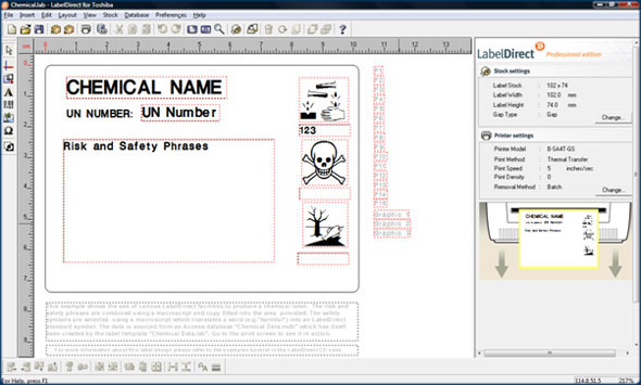 Chemical Labelling From ALTech UK