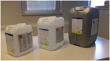 Labelled Chemical Drums